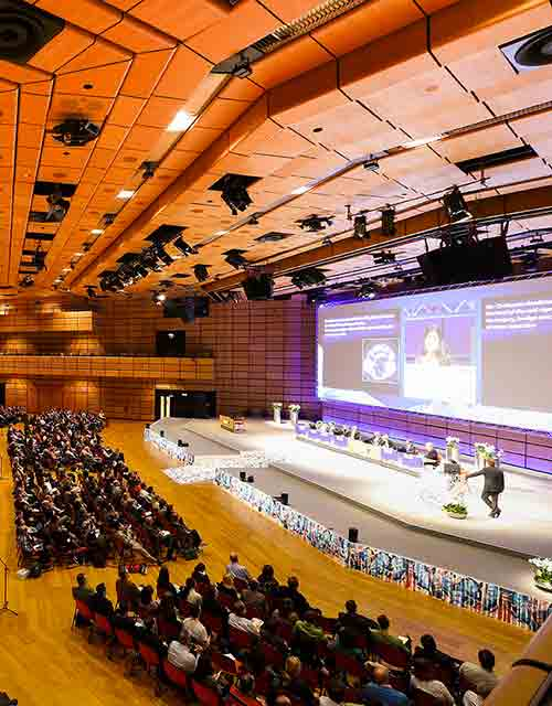 Participation in International Congresses